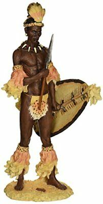 Design Toscano Shaka, the Zulu Warrior King Sculpture