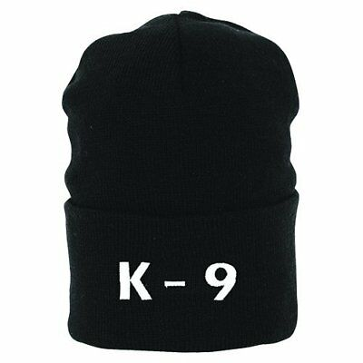 Fox Outdoor Products Embroidered K-9 Watch Cap, Black