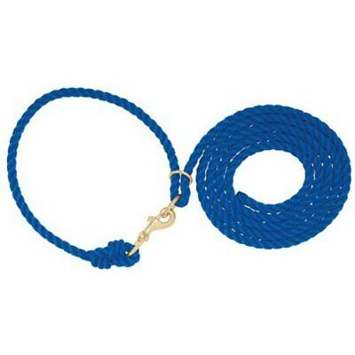 Weaver Leather Livestock Adjustable Poly Neck Rope, Blu