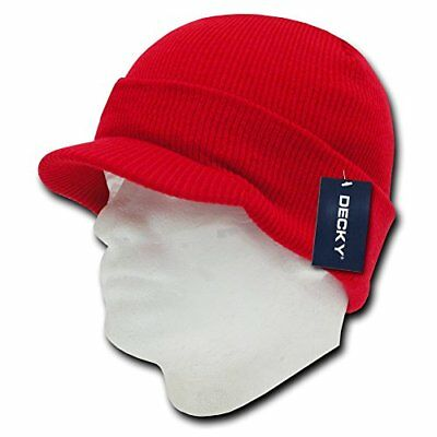 DECKY Jeep Cap, Red