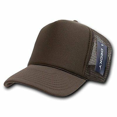 DECKY Solid Trucker Cap, Brown
