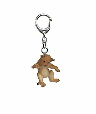 """Papo """"Young Lion On Its Back"""" Keychain"""