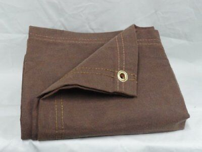 Chicago Dropcloth And Tarpaulin 10' x 12' Brown Canvas