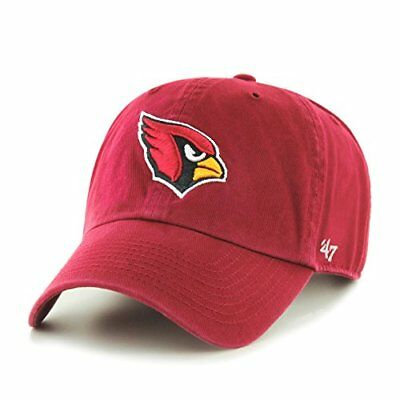 NFL Arizona Cardinals Clean Up Adjustable Hat, Dark Red