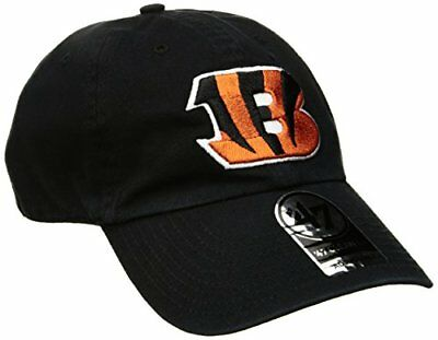 NFL Cincinnati Bengals '47 Clean Up Adjustable Hat, Bla