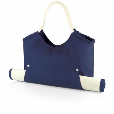 Picnic Time 'Cabo' Beach Tote with Mat, Navy