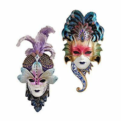 Design Toscano The Venetian 2-Piece Masquerades Sculptu