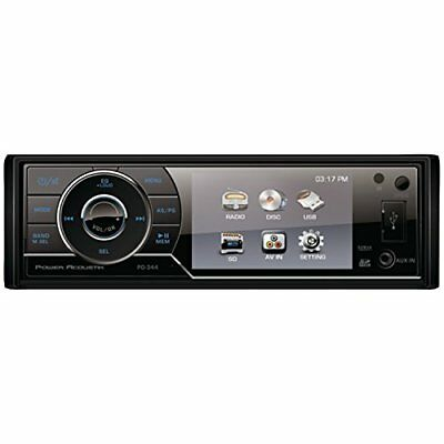 Power Acoustik PD344 PA SINGLE DIN AV 3.4-Inch SCREEN D