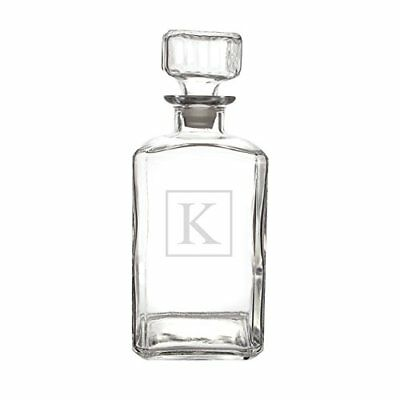 Cathy's Concepts Personalized Whiskey Decanter, Letter