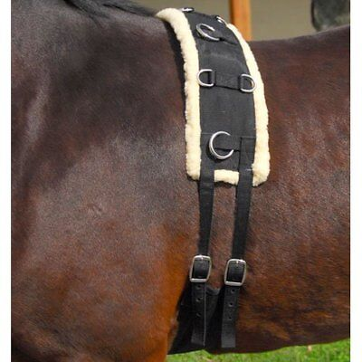 Intrepid International Nylon-Fleece Training Horse Surc