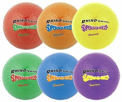 Champion Sports Super Squeeze Soccer Ball Set (Multi)