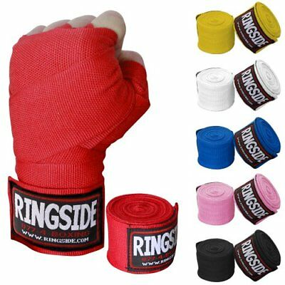 Ringside Mexican-Style Boxing Handwrap, Black, 180-Inch