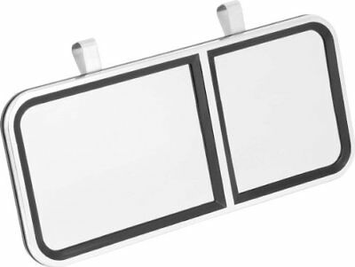 Bell Automotive 22-1-00503-8 Large Clip-On Vanity Mirro