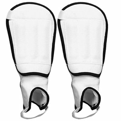 Champro CPX-1000 Deluxe Soccer Shin Guard (White, Large