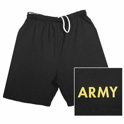 Fox Outdoor Products Army Running Shorts, Black, Small
