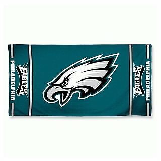 NFL Philadelphia Eagles Fiber Beach Towel, 9 lb/30 x 60