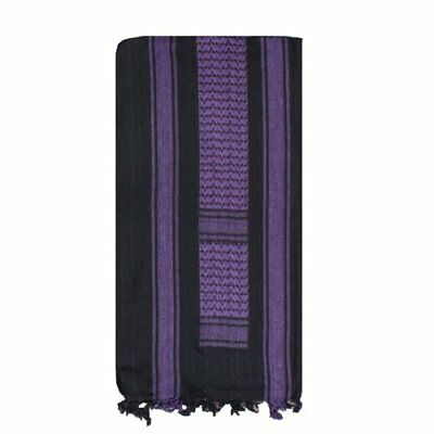 Fox Outdoor Products Tactical Shemagh, Black/Purple