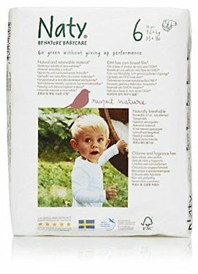 Naty by Nature Babycare Eco-Friendly Disposable Baby Di