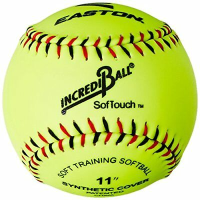 Easton Softouch Ball, Yellow,11-inch