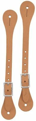 Weaver Leather Horizons Spur Straps, Golden Brown