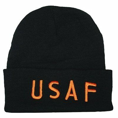 Fox Outdoor Products USAF Embroidered Watch Cap, Gold L