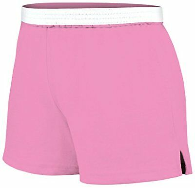 Soffe Juniors Athletic Short, Pink, Small