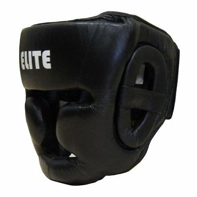 Amber Elite Fight Gear Full Face Headgear, Regular