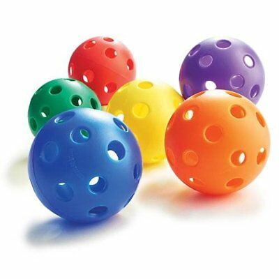 Baseball Size Play Balls Prism Pack (Pack of 6)