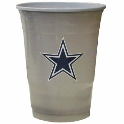 NFL Dallas Cowboys Game Day Cups (18-Ounce, 18 count)