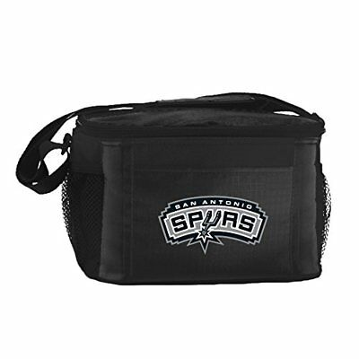 NBA San Antonio Spurs Insulated Lunch Cooler Bag with Z