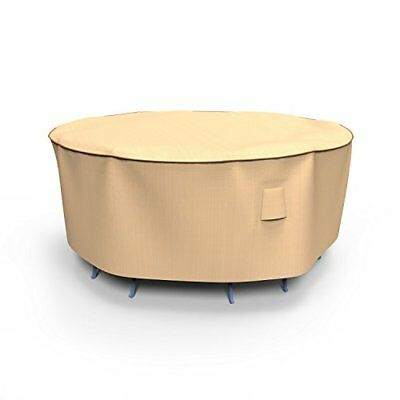 Budge Chelsea Round Patio Table and Chairs Combo Cover,