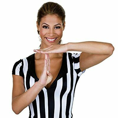 Crown Sporting Goods Women's Official Striped Referee/U
