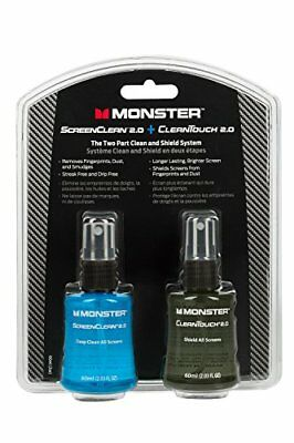 Monster ScreenClean 2.0 and CleanTouch 2.0 Clean and Sh