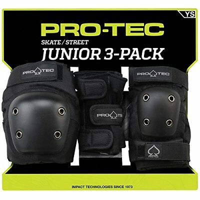 Pro-Tec Street 3-Pack Elbow, Knee, and Wrist Pad Combo