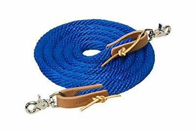 Weaver Leather 35-2026-S4 Poly Roper Rein, 5/8-Inch x 8