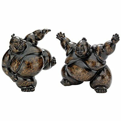 Design Toscano Full Contact Sumo Wrestler Statues, Brow