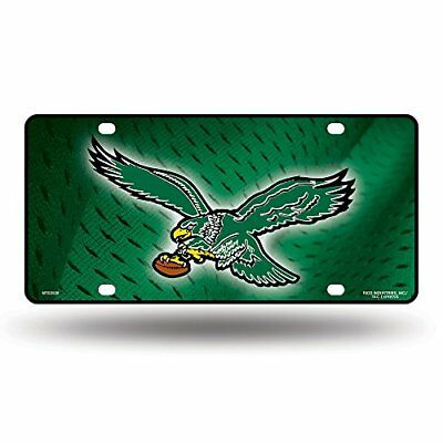 "NFL Philadelphia Eagles ""Retro Logo"" Metal Auto Tag"