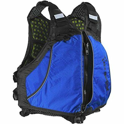 Extrasport Men's Evolve Life Jacket, Royal/Black, Large