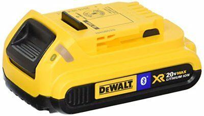 DEWALT DCB203BT 20V MAX 2Ah Compact Battery with Blue T