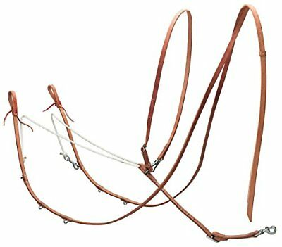 Weaver Leather Harness German Martingale, Russet