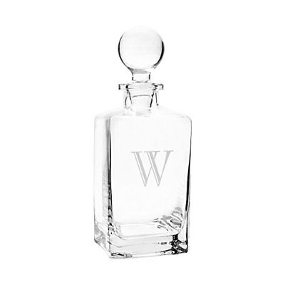 Cathy's Concepts Personalized Square Whiskey Decanter,