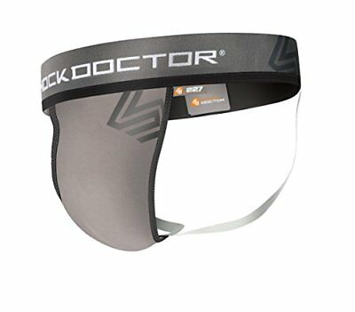 Shock Doctor Mens Core Jockstrap Support with Soft Cup,