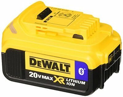 DEWALT DCB204BT 20V MAX 4Ah Compact Battery with Blue T