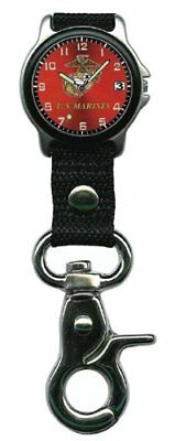 Aqua Force Marines Frontier Clip Watch with 38mm Face