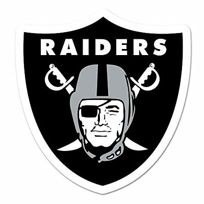 NFL Oakland Raiders Logo on the GoGo Decals, Team Color