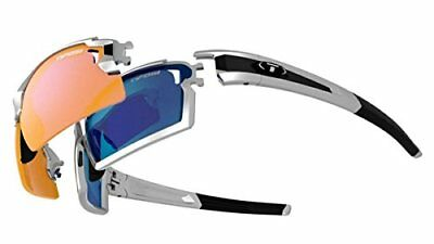 Tifosi Escalate F.H Pro Sunglasses, Silver/Black