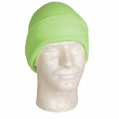 Fox Outdoor Products Acrylic Cuff Hat, Fluorescent Gree