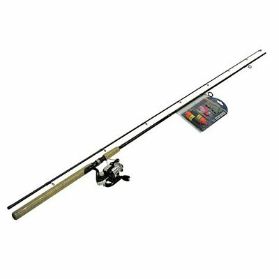 Eagle Claw W&M Steelhead Float Spin Combo with Kit, 9'6