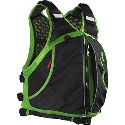 Extrasport Men's Evolve Life Jacket, Apple Green/Black,