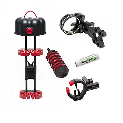 30-06 Outdoors.30-06 Saber 5Pc Bow Package Red Accent